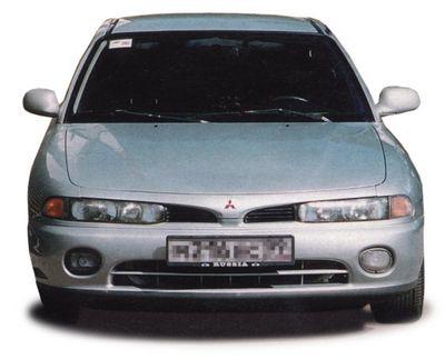 Японский bmw (mitsubishi galant) автомобиль