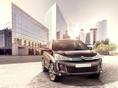 Mitsubishi asx превратили в citroen c4 aircross Citroen