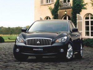 Mitsubishi возвращает модели proudia и dignity Proudia