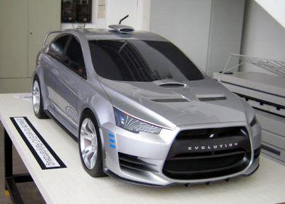 Mitsubishi все ближе к тому, чтобы показать миру зло во плоти Concept-X