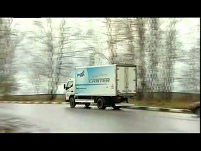 Тест-драйв mitsubishi fuso canter 2012 автомобиль