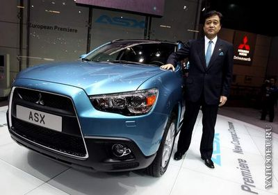 Женевский автосалон 2010. Mitsubishi asx Mitsubishi